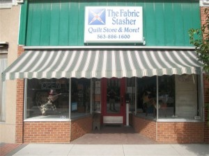 The Fabric Stasher - 505 Cedar St. Tipton, IA 52772